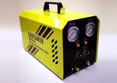 The Caresaver Universal, latest version, suitable for all refrigerants, including Hydrocarbons